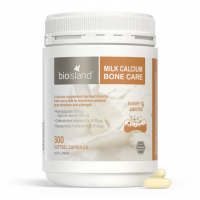 Bio Island Milk Calcium Bone Care (150 Softgel Capsules)