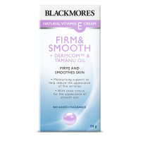 Blackmores Natural Vitamin E Cream Firm + Smooth (50g)