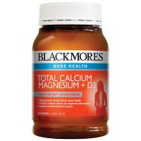 Blackmores Total Calcium Magnesium + D3 (200 Tablets)