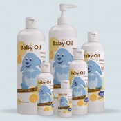 Baby Lotion and Oil (2)