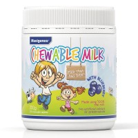 Maxigenes Chewable Milk with Blueberry (150 Chewable Tablets)