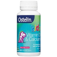 Ostelin Kids Vitamin D and Calcium (90 Chewable Tablets)
