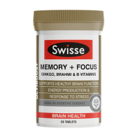 Swisse Ultiboost Memory + Focus (50 Tablets)